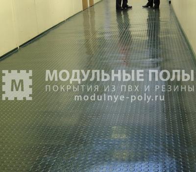 Коридор на производстве завода Возрождение г. Санкт-Петербург