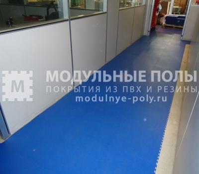 Офисные коридоры на складе компании ООО Росагро