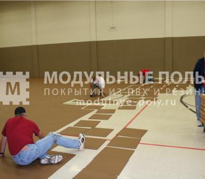 Волейбольный зал г. Гусь-Хрустальный